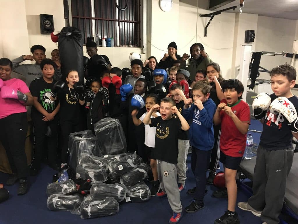 TM Boxing club says Thank you