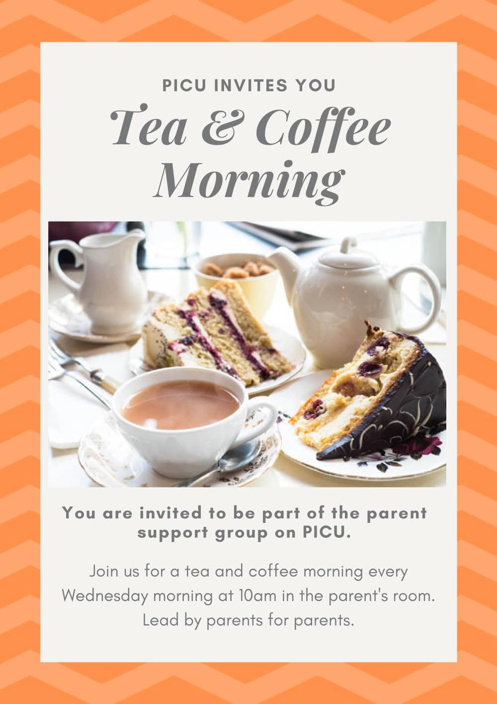 Tea & Coffee Morning